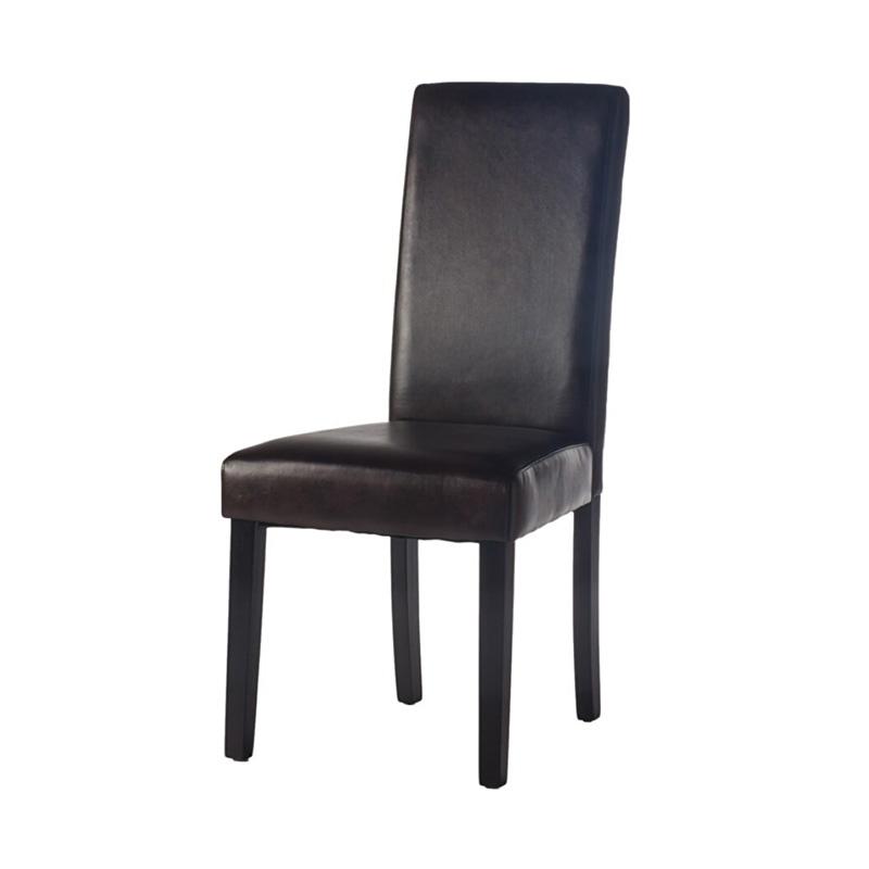 Cadeira CAMINO A CASA Cozy Castanho Escuro