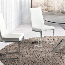 Cadeira CAMINO A CASA Round Branco