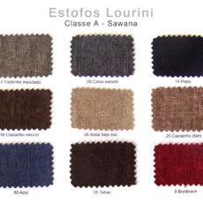 Estofos LOURINI - Classe A - Sawana