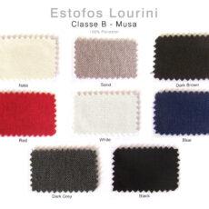 Estofos LOURINI - Classe B - Musa