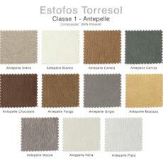 Estofos TORRESOL - Classe 1 Antepelle