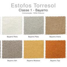 Estofos TORRESOL - Classe 1 Bayamo