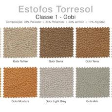 Estofos TORRESOL - Classe 1 Gobi