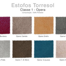 Estofos TORRESOL - Classe 1 Opera