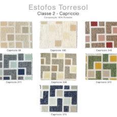 Estofos TORRESOL - Classe 2 Capriccio