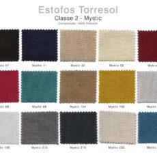Estofos TORRESOL - Classe 2 Mystic
