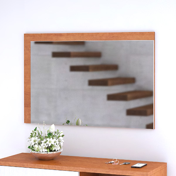 Espelho SOFAMOVEL Izi 900 Cerejeira