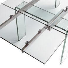 Mesa de Jantar Extensível CAMINO A CASA Cristal