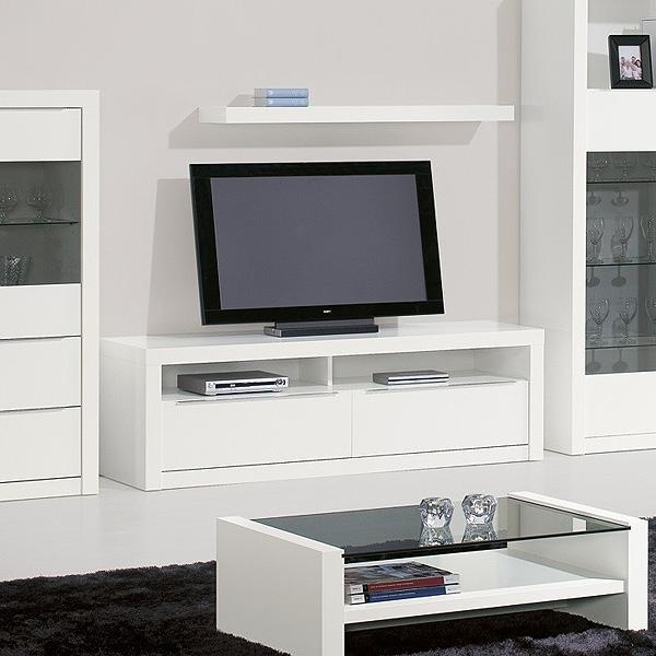Móvel de TV LOURINI Baviera Branco