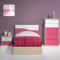 Quarto Juvenil LOURINI Kids 1 Maple