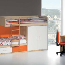 Quarto Juvenil LOURINI Kids 5 Maple